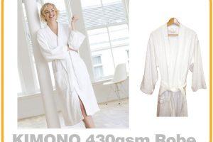 430gsm Kimono Bathrobe